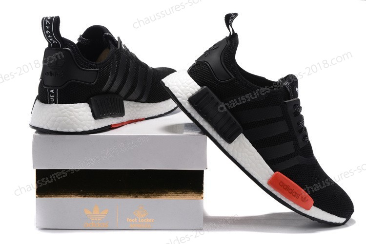 "Magasin Officiel Adidas NMD R1 X Footlocker Exclusive ""Noir/rouge""FL AQ4498 Hommes/femmes Chaussures à Prix Sympa - Magasin Officiel Adidas NMD R1 X Footlocker Exclusive ""Noir/rouge""FL AQ4498 Hommes/femmes Chaussures à Prix Sympa-01-2"