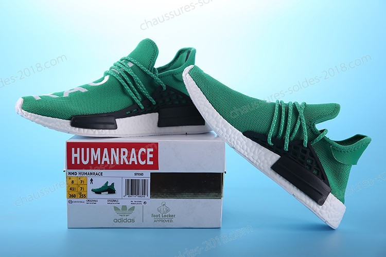 "Incroyable Pharrell Williams X Adidas NMD HUMAN RACE ""Grass green"" S79163 Hommes Taille:EUR39-45 UK5.5-10 Pas Cher  - Incroyable Pharrell Williams X Adidas NMD HUMAN RACE ""Grass green"" S79163 Hommes Taille:EUR39-45 UK5.5-10 Pas Cher-01-1"