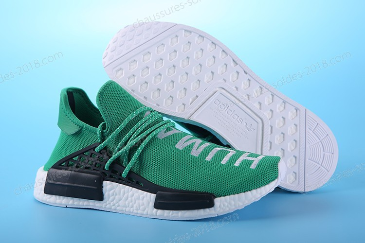 "Incroyable Pharrell Williams X Adidas NMD HUMAN RACE ""Grass green"" S79163 Hommes Taille:EUR39-45 UK5.5-10 Pas Cher  - Incroyable Pharrell Williams X Adidas NMD HUMAN RACE ""Grass green"" S79163 Hommes Taille:EUR39-45 UK5.5-10 Pas Cher-01-4"