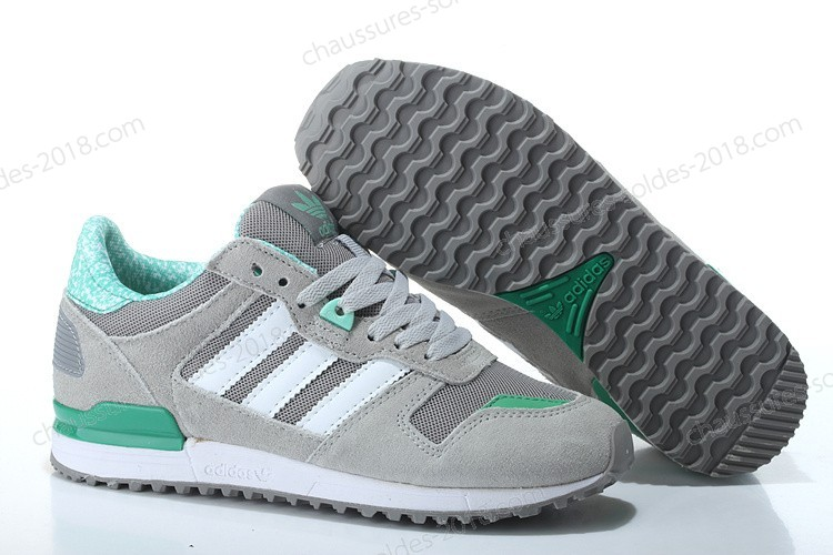 Célèbre Adidas ZX 700 femmes Originals Athletic G19415 gris Green blanc Running Trainers - Célèbre Adidas ZX 700 femmes Originals Athletic G19415 gris Green blanc Running Trainers-01-5
