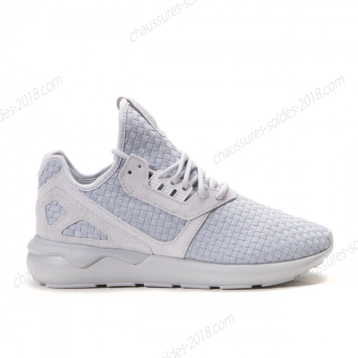 En Vogue à Prix Cassé Adidas Tubular Runner Woven (Light gris) premium woven upper. B25533 - En Vogue à Prix Cassé Adidas Tubular Runner Woven (Light gris) premium woven upper. B25533-01-1