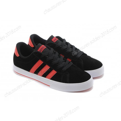 Magasin Officiel unisexe Adidas NEO SE Daily Vulc suède Core Noir/University rouge F39073 à Prix Discount  - Magasin Officiel unisexe Adidas NEO SE Daily Vulc suède Core Noir/University rouge F39073 à Prix Discount-01-2