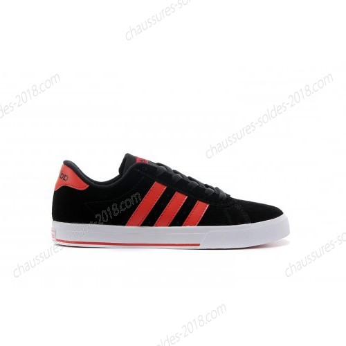 Magasin Officiel unisexe Adidas NEO SE Daily Vulc suède Core Noir/University rouge F39073 à Prix Discount  - Magasin Officiel unisexe Adidas NEO SE Daily Vulc suède Core Noir/University rouge F39073 à Prix Discount-01-4