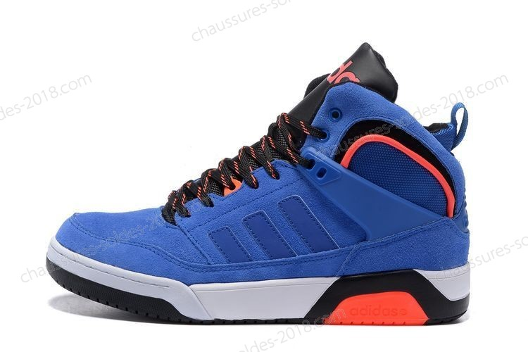 Magasin Officiel NEO Adidas 9TIS High-top hommes leisure F98555 Bright bleu - fluorescent rouge à Prix Discount  - Magasin Officiel NEO Adidas 9TIS High-top hommes leisure F98555 Bright bleu fluorescent rouge à Prix Discount-01-0