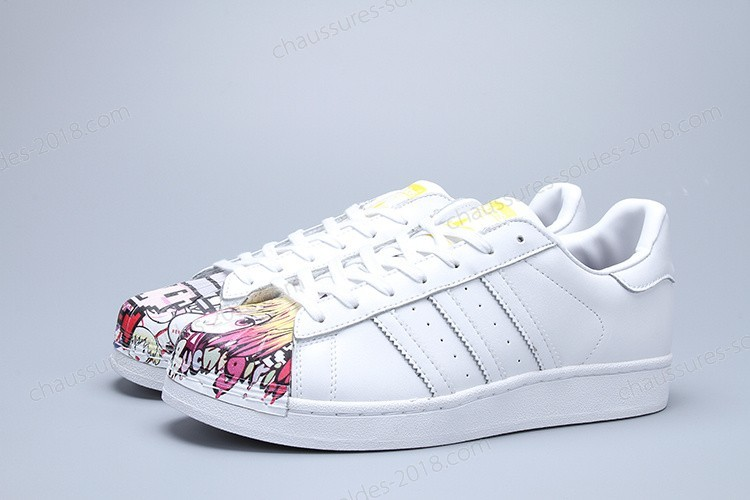 "Soigné Moins Cher Adidas Originals MR.range ""Artwork Boy Girl Mr. Ftwr W Superstar Supershall hommes & femmes chaussures S83354 - Soigné Moins Cher Adidas Originals MR.range ""Artwork Boy Girl Mr. Ftwr W Superstar Supershall hommes & femmes chaussures S83354-01-1"