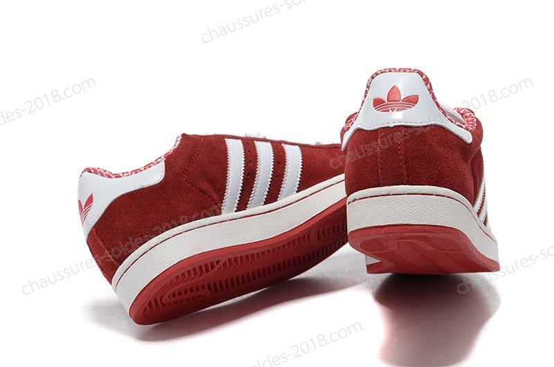Magasin Officiel Pas Cher Adidas Superstar 2 ii suède G02010 rouge blanc Couples Running Chaussures Classic Running Chaussures - Magasin Officiel Pas Cher Adidas Superstar 2 ii suède G02010 rouge blanc Couples Running Chaussures Classic Running Chaussures-01-2
