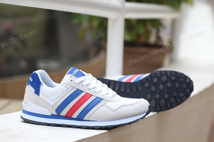 Bon Marché New Adidas NEO RUNEO 10K Hommes/femmes Gray/blanc/Bleu/rouge F97805 Incroyable chaussures - Bon Marché New Adidas NEO RUNEO 10K Hommes/femmes Gray/blanc/Bleu/rouge F97805 Incroyable chaussures-01-10