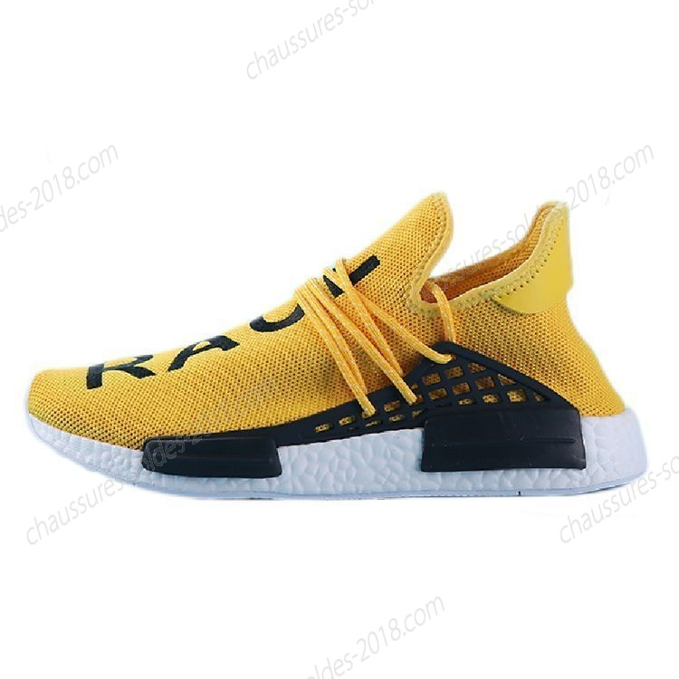 "Incroyable Pharrell Williams X Adidas NMD HUMAN RACE ""orange blanc"" S79162 Hommes Taille:EUR39-45 UK5.5-10 Pas Cher  - Incroyable Pharrell Williams X Adidas NMD HUMAN RACE ""orange blanc"" S79162 Hommes Taille:EUR39-45 UK5.5-10 Pas Cher-31"