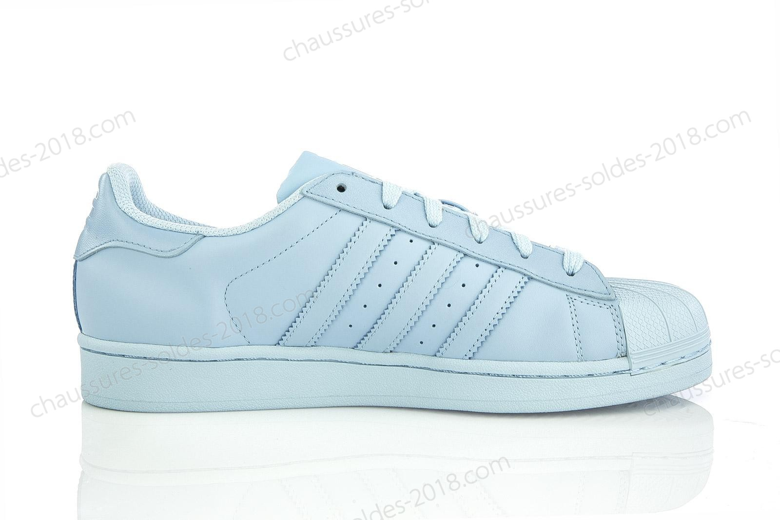 En Solde Adidas Superstar x Pharrell Williams Supercolor Basketball Chaussures in Clear Sky/Clear Sky/Clear Sky (S41830) Meilleure qualité - En Solde Adidas Superstar x Pharrell Williams Supercolor Basketball Chaussures in Clear Sky/Clear Sky/Clear Sky (S41830) Meilleure qualité-31