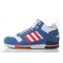 Extraordinaire Soldes Adidas Hommes ZX 700 MID Originals B35242 Bleu/blanc/rouge Sneakers-20