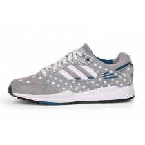 Assurance De l'authenticité Adidas Original Tech Super EF classic runner femmes Running Trainers gris D65906-20