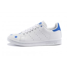 Authentique 100% En promotion Adidas Originals Stan Smith D67360 hommes/femmes blanc/bleu-20