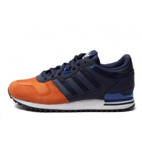 Haute Qualité Adidas originals z x 700 CB G26911 Hommes Classic chaussuress - Orange/Navy Magasin Officiel