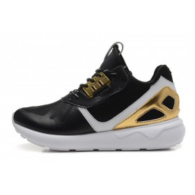 En Vogue à Prix Cassé Adidas Originals Tubular Core hommes/femmes Baskets Noir Or blanc B35639 Baskets
