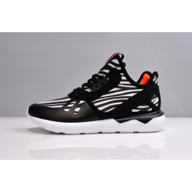 En Vogue à Prix Cassé Adidas Tubular Runner Y3 B25531 blanc / Core Noir / Collegiate Orange