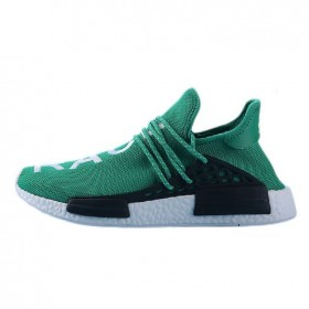 """Incroyable Pharrell Williams X Adidas NMD HUMAN RACE """"Grass green"""" S79163 Hommes Taille:EUR39-45 UK5.5-10 Pas Cher"""